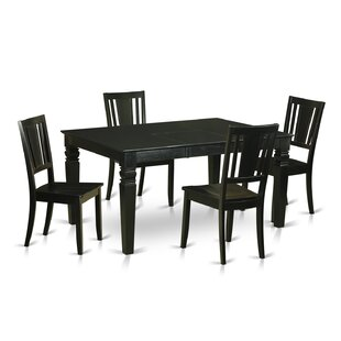 Weston 5 Piece Dining Set by Wooden Impor..