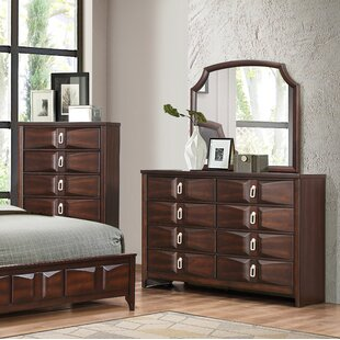 Redbrook 8 Drawer Dresser with Mirror