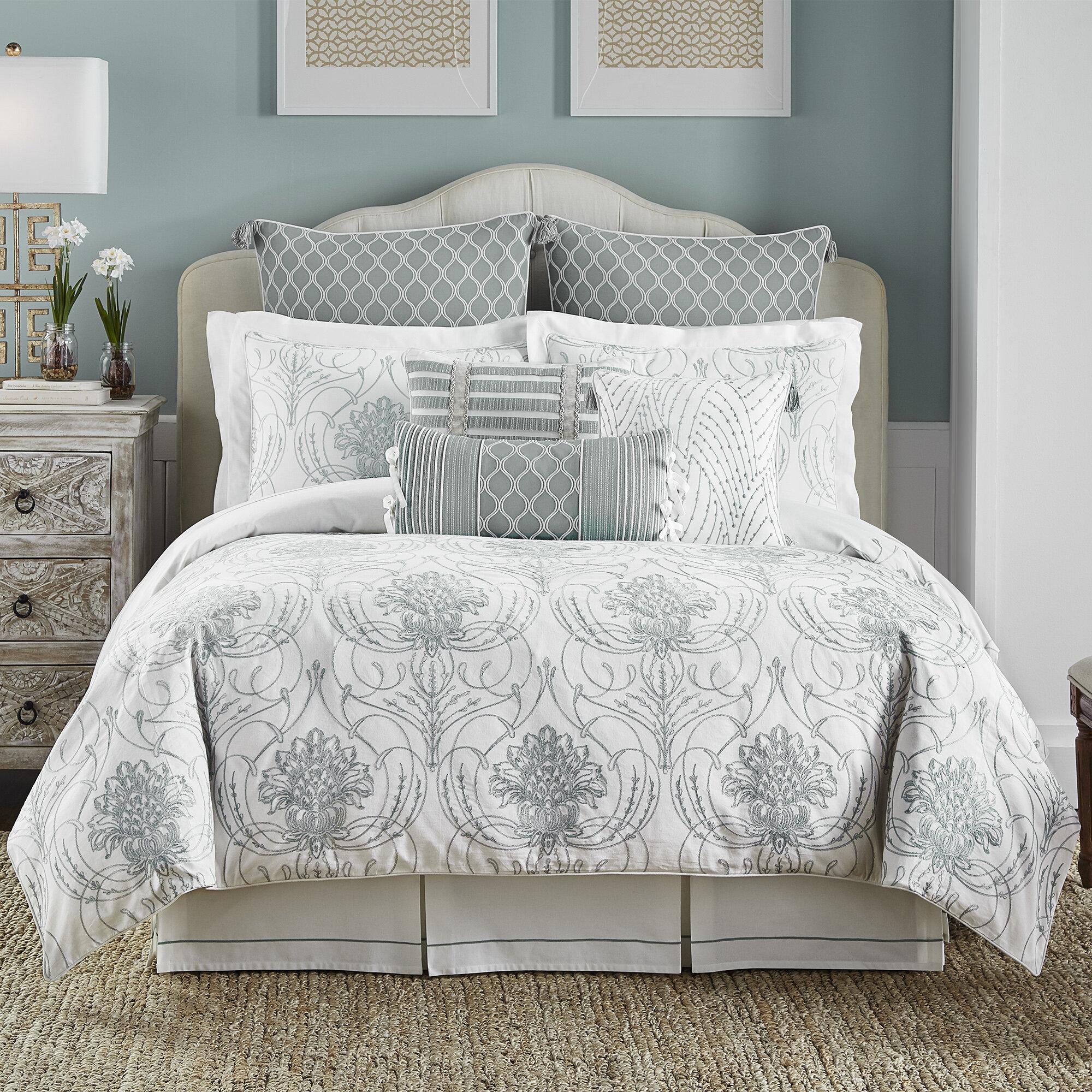 Croscill Eleyana 4 Piece Reversible Comforter Set & Reviews | Wayfair