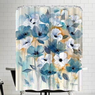 Anemones Single Shower Curtain