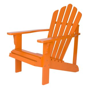 Cordelia Solid Wood Adirondack Chair  sc 1 st  Wayfair & Yellow Wood Adirondack Chairs Youu0027ll Love | Wayfair