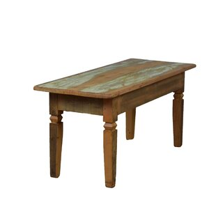 Goulart Feet Wood Bench by Bloomsbury Market