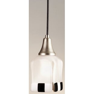 Metro Fusion Enduro Draped 1-Light Square/Rectangle Pendant by Meyda Tiffany