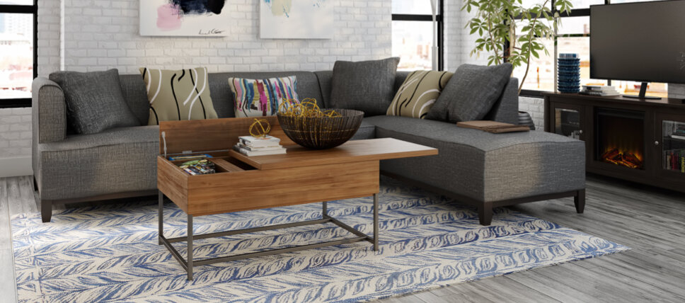 BIG SALE] Small-Space Living Room Furniture You\'ll Love In ...