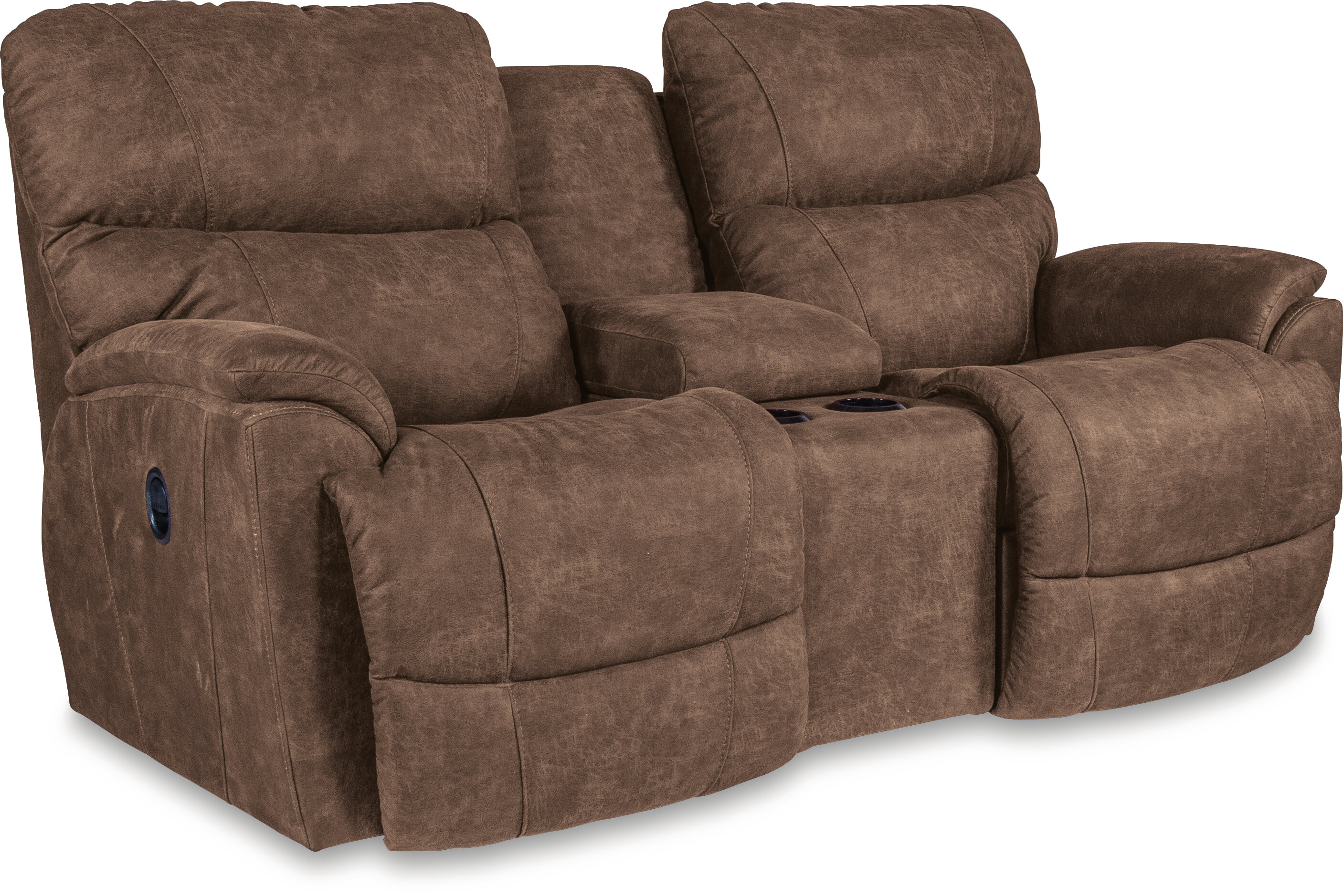 Superb Trouper Reclining Loveseat With Console Caraccident5 Cool Chair Designs And Ideas Caraccident5Info