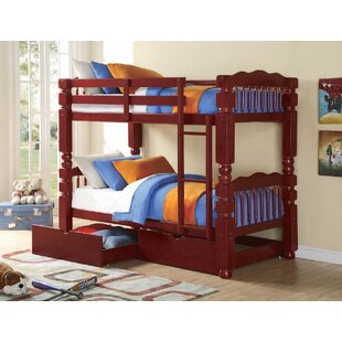 Englewood Twin Bunk Bed With Drawers by Harriet Bee Top Reviews