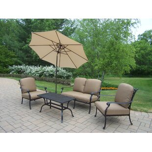 Bosch 6 Piece Sunbrella Sofa Set with Cushions