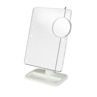 Reviews Portable Makeup/Shaving Mirror By Rebrilliant