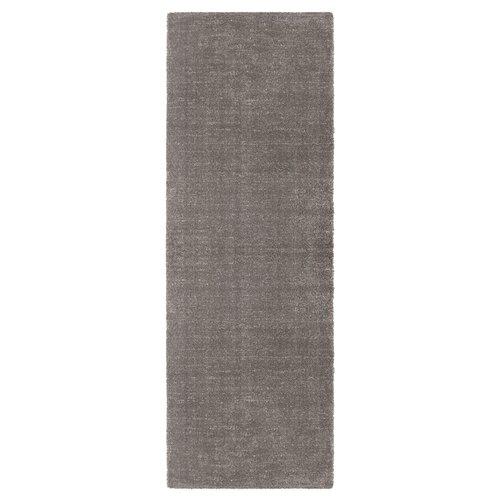 Orly Shag Mottled Grey Rug Elle Decor Size: Runner 80 x 200c