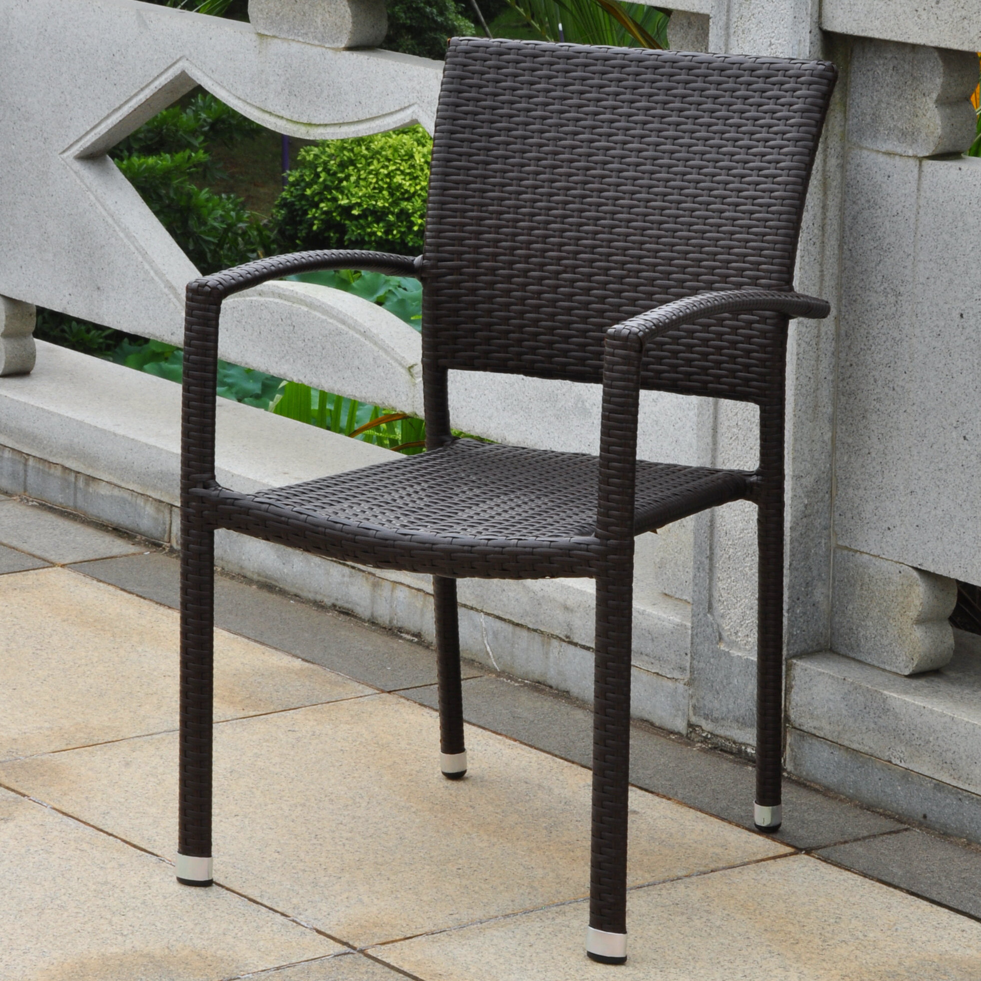 Katzer Stacking Patio Dining Chair