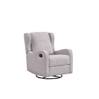 Winston Porter Janda Nursey Chair Glider Reviews Wayfair