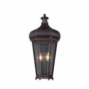 Alexy 2 Light Outdoor Wall Lantern By Rosalind Wheeler