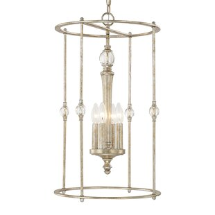 House of Hampton Quartz 4-Light Lantern Pendant