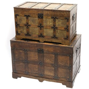 Catharine Trunk Set (Set of 2) by Williston Forge