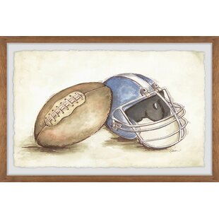 Finn Lindqvist Football Gear Framed Art by Viv   Rae
