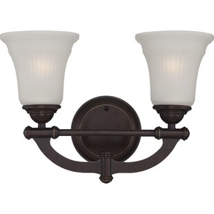 Brillion 2-Light Vanity Light by Charlton Home