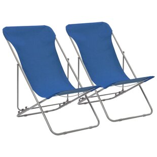 Vale Reclining/Folding Beach Chair (Set Of 2) By House Of Hampton