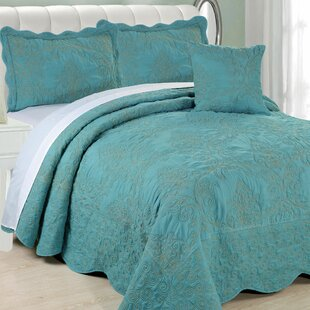 King Size Teal Quilts Coverlets Sets Youll Love Wayfair