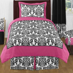Sweet Jojo Designs Isabella 3 Piece Full/Queen Comforter Set