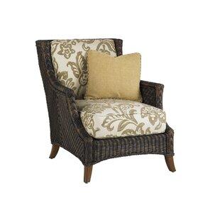 Island Estate Lanai Lounge Patio Chair with Cushion
