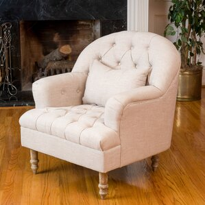 Palafox Tufted Armchair by Lark Manor