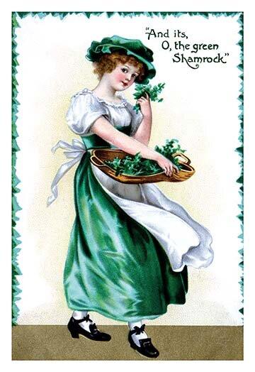 Buyenlarge Shamrock Green Painting Print Wayfair