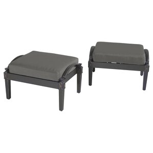 Phoebe Patio Ottoman (Set Of 2)