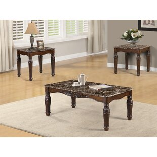Craig 3 Piece Coffee Table Set