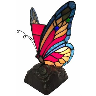 Westnedge Butterfly Tiffany 10 Table Lamp