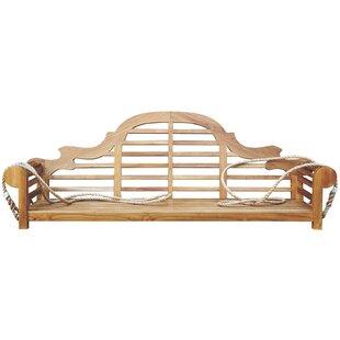Passarelli Teak Porch Swing