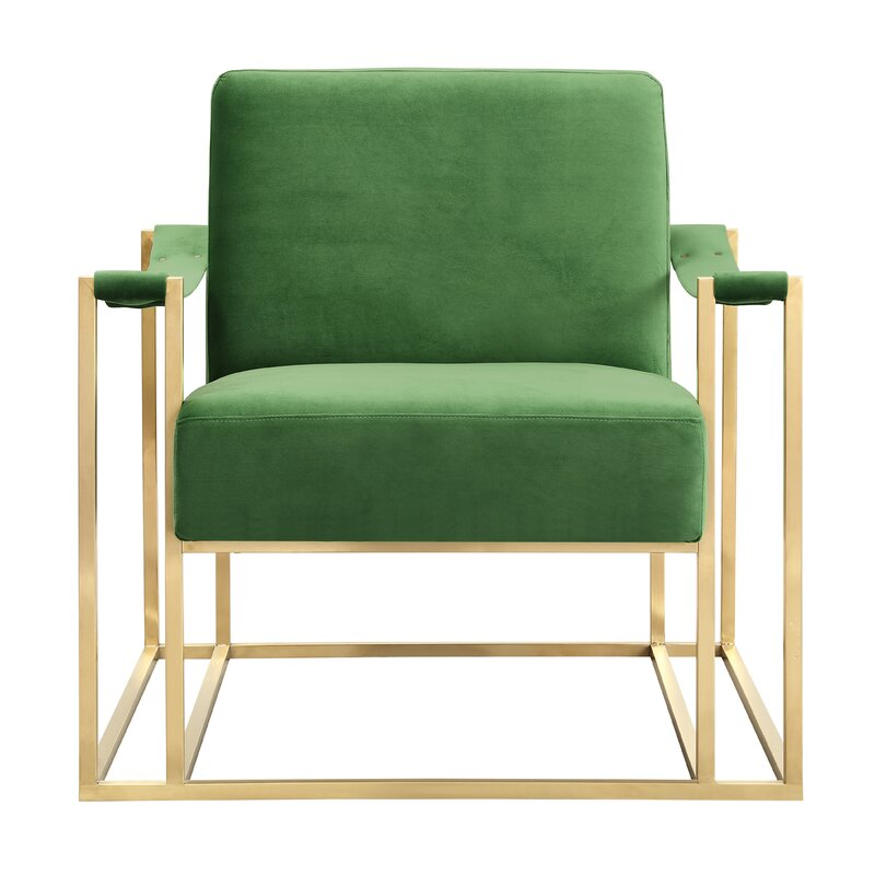 Contemporary Solid Armchair