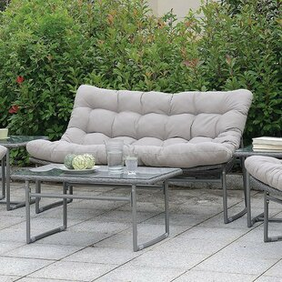 Ivy Bronx Cermenho Loveseat with Cushions