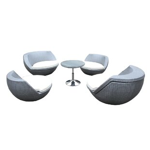 Beem 5 Piece Conversation Set with Cushions