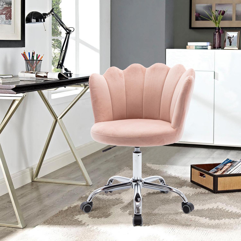 Mercer41 Overlock Elegant Home Office Task Chair Wayfair