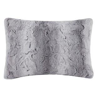 Atkins Faux Fur Throw Pillow