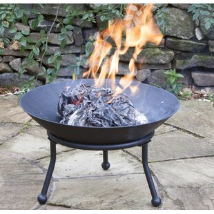 Cast Iron Charcoal/Wood Burning Fire Pit Image