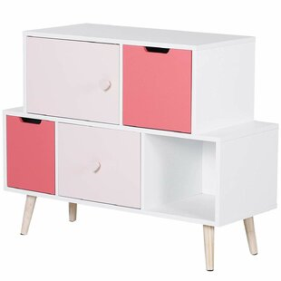 Feldman 5 Drawer Dresser By Harriet Bee