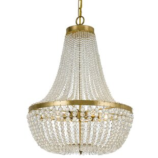 Ivymore 6-Light Empire Chandelier by House of Hampton