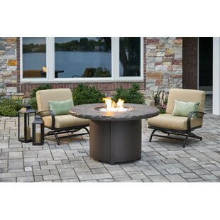 Beacon Steel Propane/Natural Gas Fire Pit Table