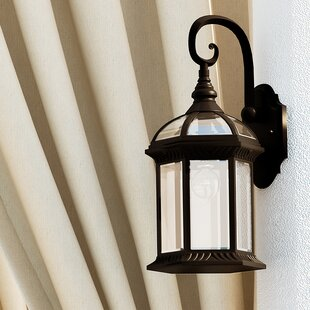 Reviews Powell 1-Light Outdoor Wall Lantern By Laurel Foundry Modern Farmhouse