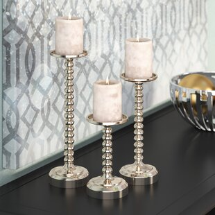 Perfect 3 Set Tall Candle Holders | Wayfair NS17