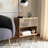 Walser 1 Drawer Nightstand by Union Rustic