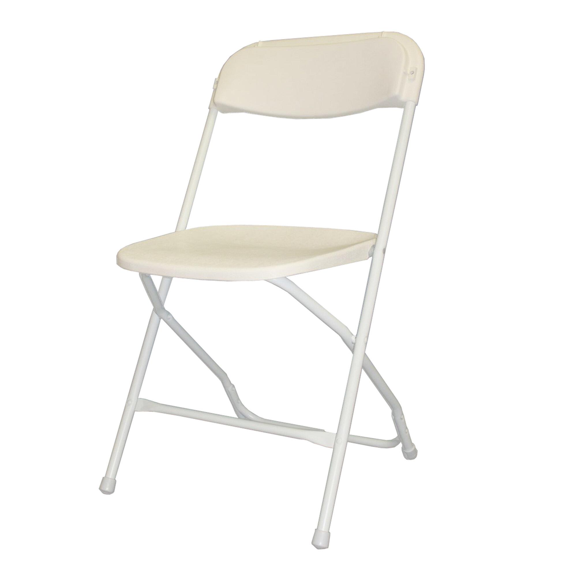 Mayline Event Series Plastic Folding Chair Wayfair
