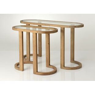 Desiree 2 Piece Console Table Set By Ebern Designs