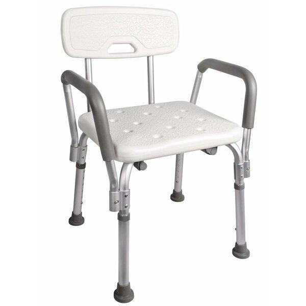 Calhome Adjustable Medical Shower Chair & Reviews | Wayfair
