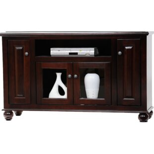 Spoffo Solid Wood TV Stand For TVs Up To 60