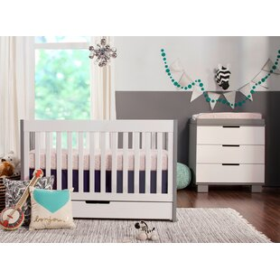 Price comparison 3 in 1 Convertible 2 Piece Crib Set By Harriet Bee