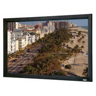 Cinema Contour Matte White Fixed Frame Projection Screen