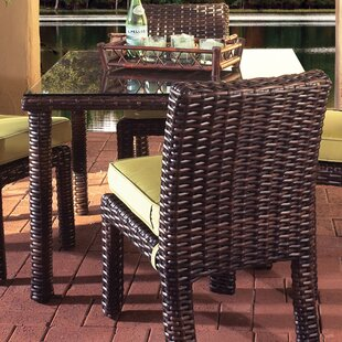 Saint Tropez Wicker Square Dining Table by South Sea Rattan Discount