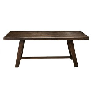 Templin Rubberwood Dining Table Union Rustic